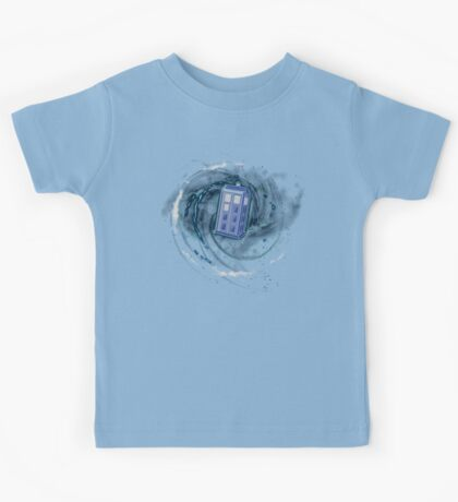 Space and Time and the Universe Kids Tee