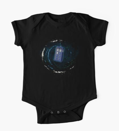 Space and Time and the Universe One Piece - Short Sleeve