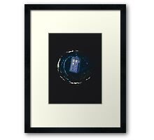 Space and Time and the Universe Framed Print