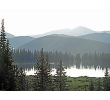 Echo Lake Hills Photographic Print