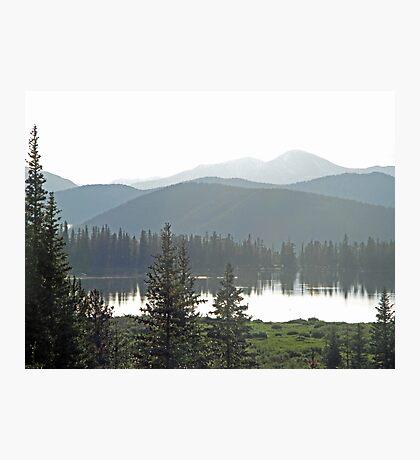 Echo Lake Hills Photographic Print