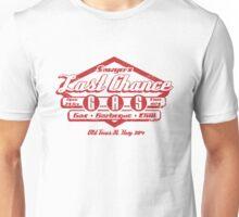 Last Chance Gas Station Unisex T-Shirt
