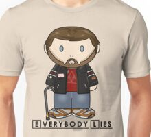 Dr House - Everybody Lies - Minifolk Design Unisex T-Shirt