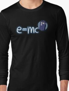 Relativity of Space and Time Long Sleeve T-Shirt