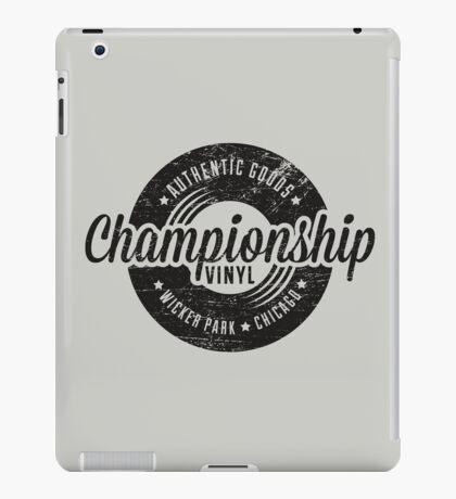 Championship Vinyl (worn look) iPad Case/Skin