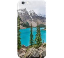 Moraine Lake in the Canadian Rockies iPhone Case/Skin