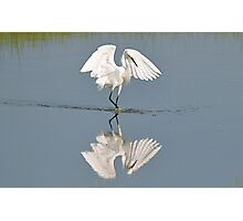 Dancing With My Reflection Photographic Print