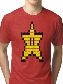 Mario Star Item Tri-blend T-Shirt