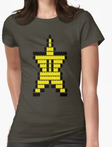 Mario Star Item Womens Fitted T-Shirt