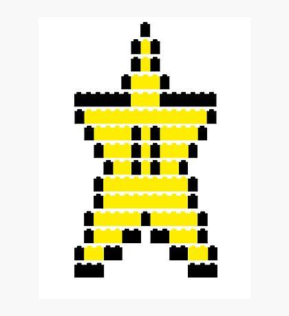 Mario Star Item Photographic Print