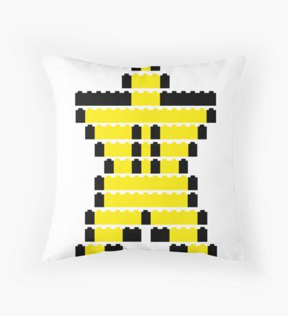Mario Star Item Throw Pillow
