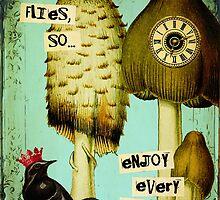 Time Flies by Debbie-Anne Parent