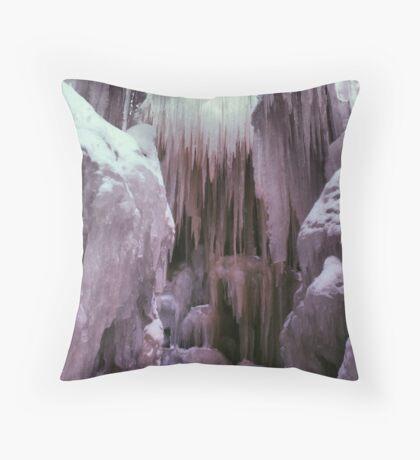 Ice Castle Throw Pillow