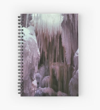 Ice Castle Spiral Notebook
