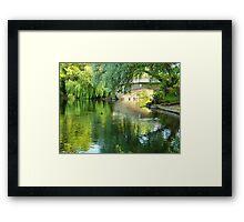 Sunlight Through the Bridge Framed Print