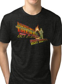 Back to the future day - Great scott!! Tri-blend T-Shirt