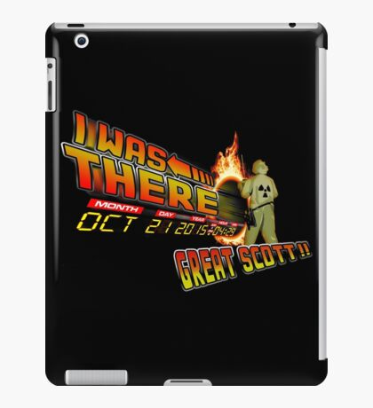 Back to the future day - Great scott!! iPad Case/Skin