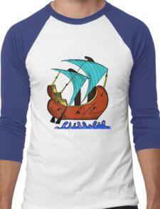 Byzantine Ship Men's Baseball ¾ T-Shirt