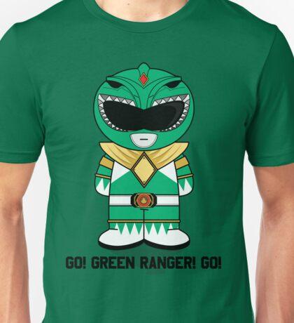 Green Ranger - GO! - Minifolk Deign Unisex T-Shirt