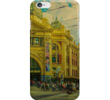 The Cyclist, Toorak Tram and Something Different iPhone Case/Skin