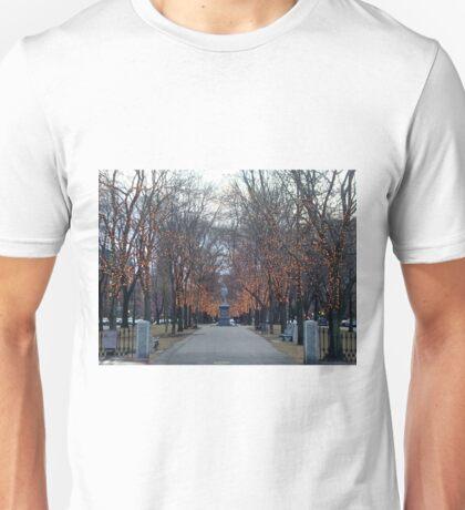 Boston with Lights Unisex T-Shirt