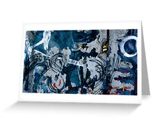The Berlin Wall Fragment Greeting Card