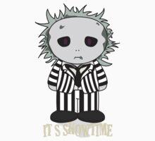 Beetlejuice - It's Showtime - Minifolk Design One Piece - Short Sleeve