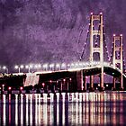 Bridge At Night card by Theodore Black