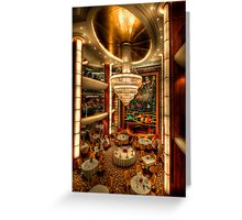 Fine Dining Greeting Card