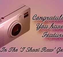 I Shoot Raw Featured Banner by EnchantedDreams