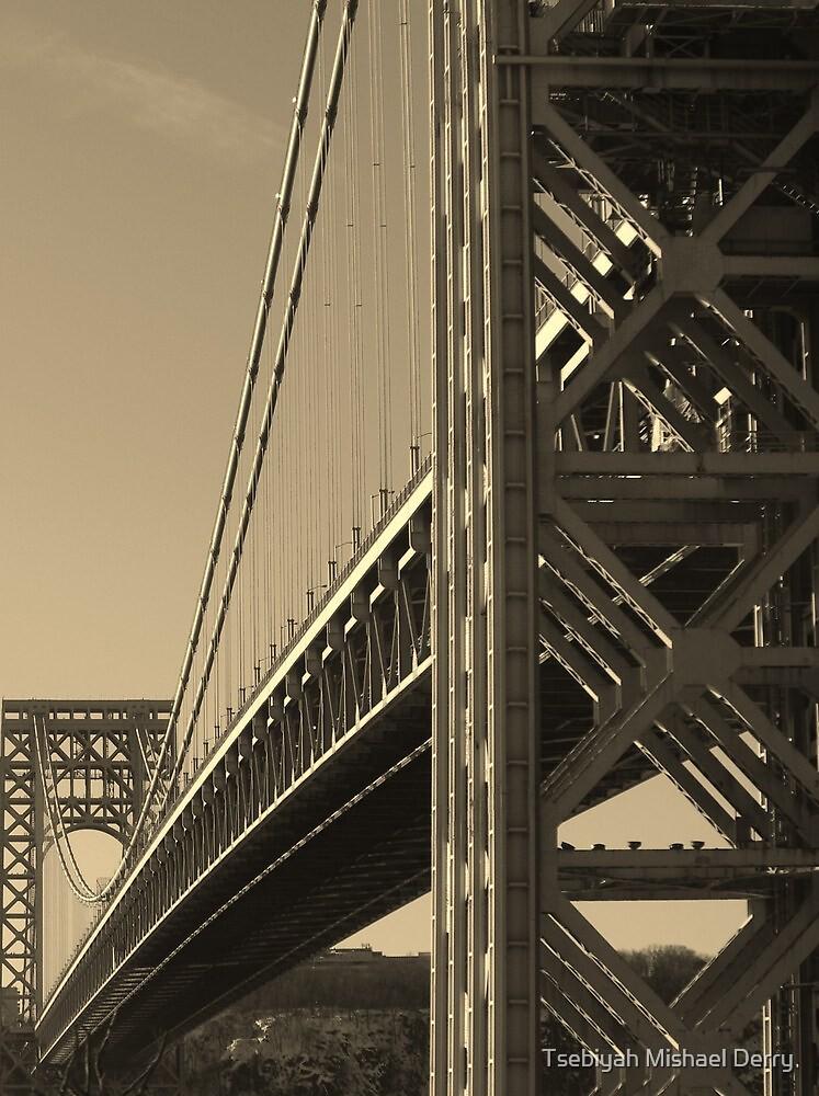York to Jersey: The George Washington Bridge by Tsebiyah Mishael Derry