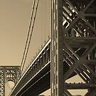 York to Jersey: The George Washington Bridge by Tsebiyah Mishael Derry
