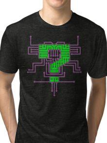 Question Mark Circuits  Tri-blend T-Shirt