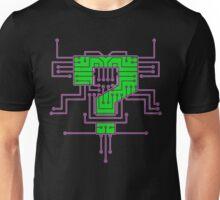 Question Mark Circuits  Unisex T-Shirt