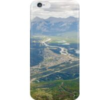 View of Jasper National Park in the Canadian Rockies iPhone Case/Skin