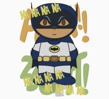 Batman 66 - Na Na Na Na - Minifolk Design One Piece - Short Sleeve