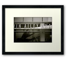 The Alvin Ailey Building Framed Print