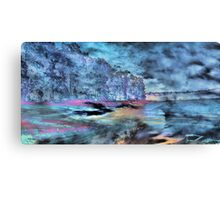 Troubled Water Canvas Print