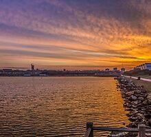 Crosby Marina Sunrise by Paul Madden