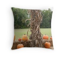 Harvest Time 4 Throw Pillow