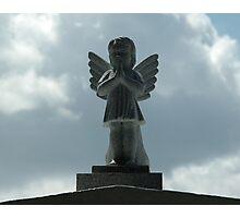 Angel Statue Photographic Print