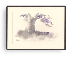 """Morning Mist""   Sumi e wash painting Canvas Print"