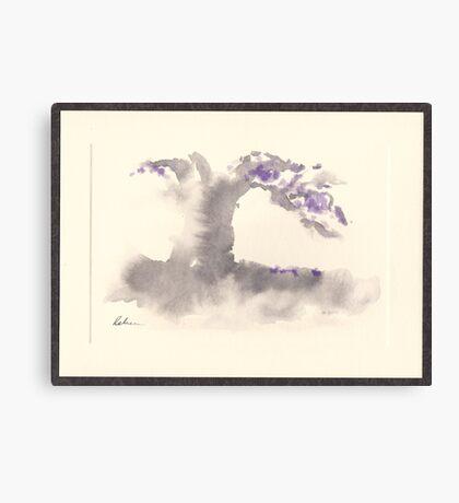 """Morning Mist""   Sumi e wash painting Canvas Print"