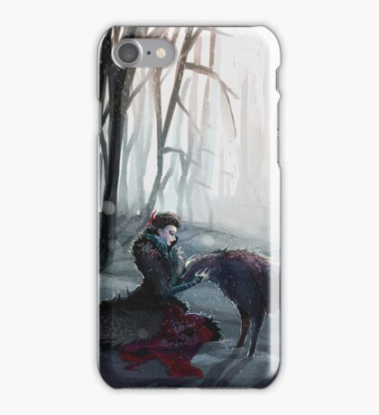 The Queen and the Wolf (Once Upon a Time) iPhone Case/Skin