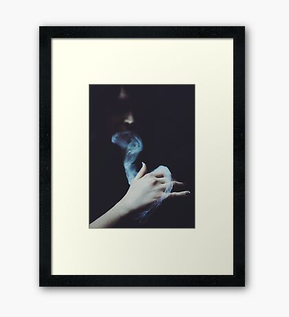 Ectoplasmic  Framed Print