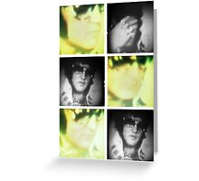 Elvis Presley, Press Conference film stills Greeting Card