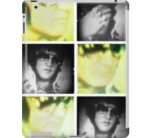 Elvis Presley, Press Conference film stills iPad Case/Skin