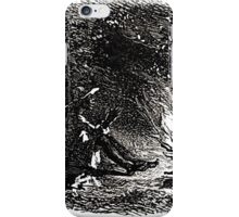 Achille Sirouy Mark Twain Les Aventures de Huck Huckleberry Finn illustration p059 iPhone Case/Skin