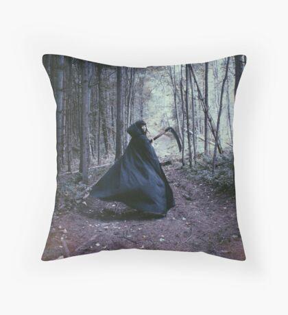 The Call of Autumn Throw Pillow