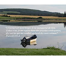 Ps. 23:1,2 fr Photographic Print